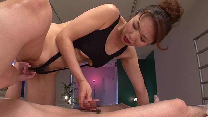 ド助平美熟女がM男と互いに寸止め焦らして溜まった性欲開放SEX 矢吹京子 画像6