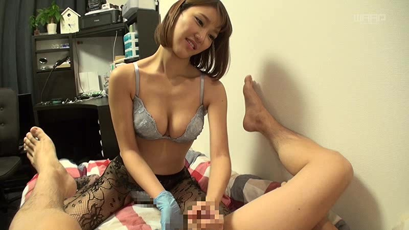 【若菜奈央 アナル舐め】巨乳の痴女、若菜奈央のアナル舐めM男着エロがエロい!!