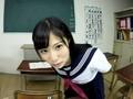 キスとヨダレと手コキ責め、おまけにフェラと乳首責め ver女子校生 栄川乃亜