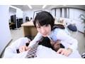 【VR】お仕事中のお姉さんは職場で制服のままM男の乳首をイジるのがお好き 黒木いくみ  稲子