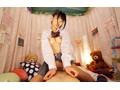 【VR】エロ行為絶対禁止!の健全リフレ店で押しに弱い性格良し子ちゃんとコソコソ裏オプ性交 高杉麻里