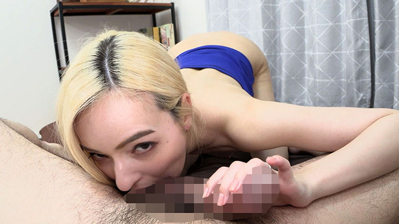 常人離れしたクレイジーオナニーをする美人ハーフ妻が本物のチ○ポを求めてやってきたAV紀行 西田カリナ