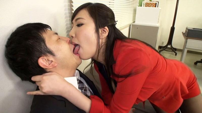 淫語社長とM男 若槻みづな 画像14