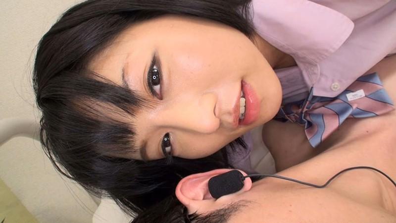 女子校生のささやき淫語手コキ 画像16
