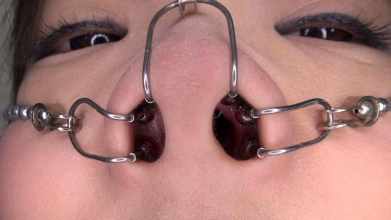 美顔羞恥 豚鼻フェラ 画像17