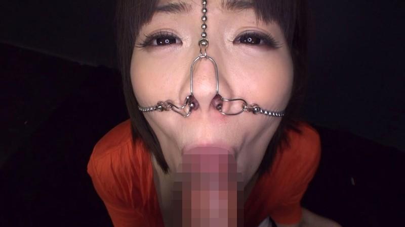 美顔羞恥 豚鼻フェラ 画像2