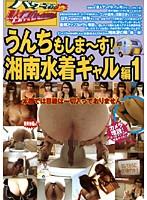 素人ナンパトイレ号がゆく うんちもしま〜す!湘南水着ギャル編 1 ダウンロード