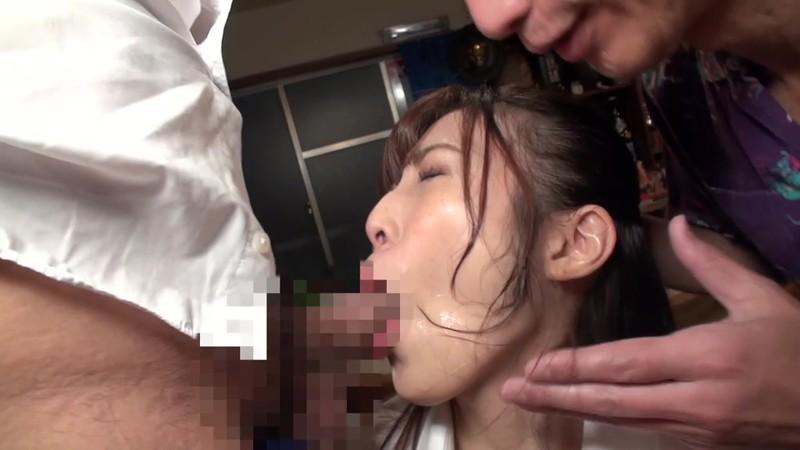 酔いどれ親父のパワハラ顔舐め 宇野栞菜 4枚目