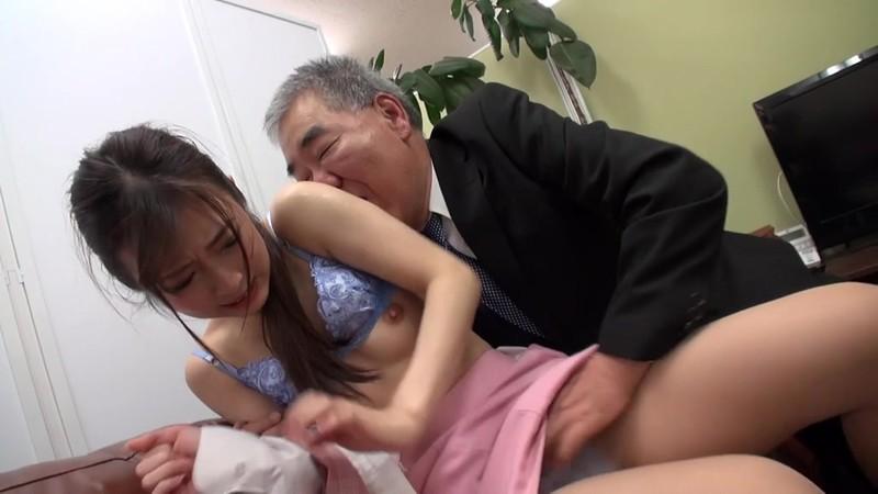 酔いどれ親父のパワハラ顔舐め 宇野栞菜 8枚目