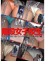 階段女子校生 サテン系つるつるパンツ女子校生を覗き倒す編 ダウンロード