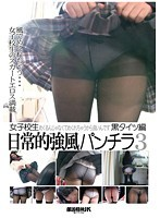 女子校生日常的強風パンチラ 3 黒タイツ編 ダウンロード