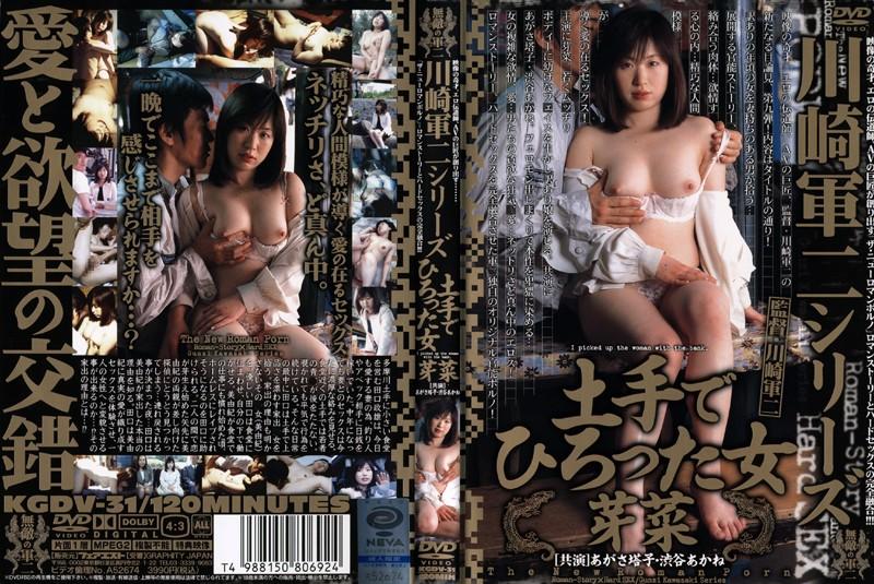 川崎軍二シリーズ 土手でひろった女 パッケージ