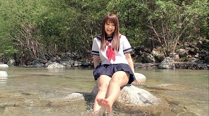 【#愛花沙也】夏服JK さや 南アルプスの天然美少女[49ekdv00266][EKDV-266] 3