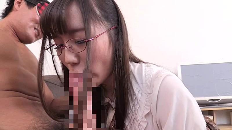 【美少女 中出し】メガネで巨乳の美少女の、中出し顔面騎乗M男プレイ動画!