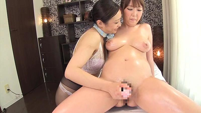 イカせ専門レズエステ 巨乳娘を騙してレズれ!! 画像14
