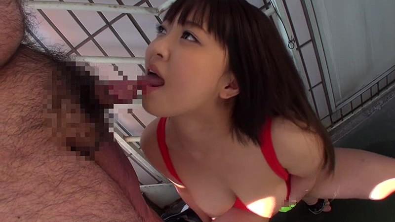 ザーメンごっくん 精飲専用エロ舌デカ巨乳輪女19歳 牧瀬愛 画像3