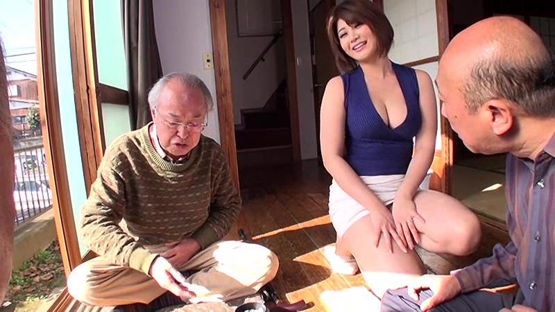 老人たちに寝取られたセックスレスの夫を持つ巨乳嫁 推川ゆうり サンプル画像 4