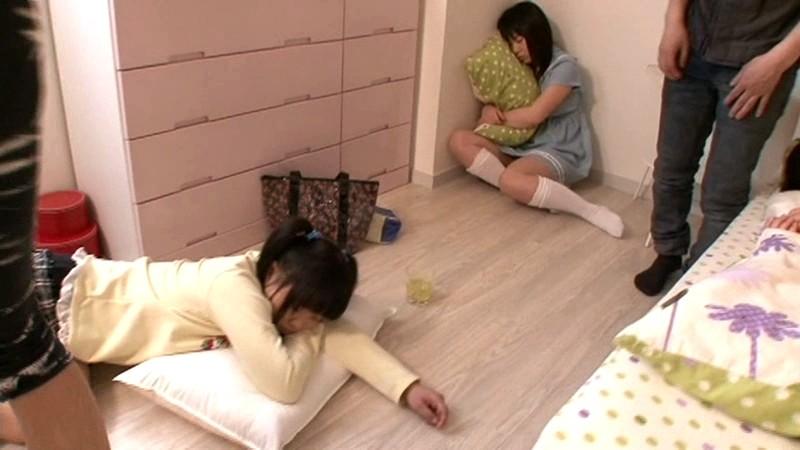 家に遊びに来た妹の友達を睡眠薬で眠らせて●す記録映像 ●物眠姦|無料エロ画像1