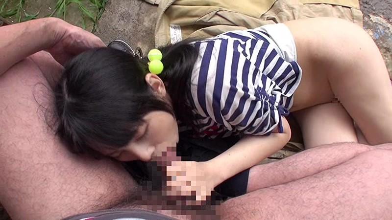 少女の道草 過疎化した田舎の集落で行われる少女野外わいせつ記録|無料エロ画像9