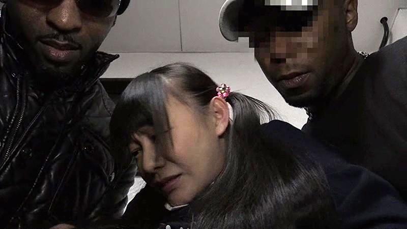 少女黒人押込みレ●プ|無料エロ画像15
