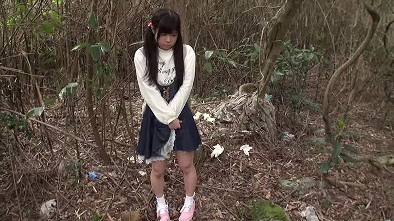 少女野外強●わいせつ映像|無料エロ画像1