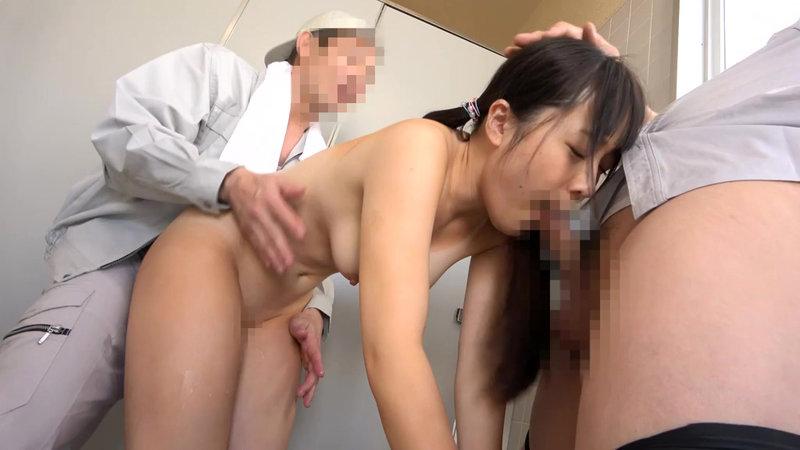 夏休み日焼け美少女公衆トイレ強●映像5