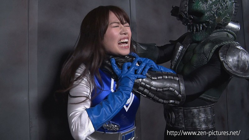 撃獣戦隊アースファイター ブルーマーメイドVS女幹部ミストレス・ロゼンダ