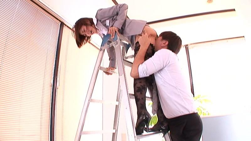 毎日やらしいパンスト履いてる女子社員 朝日奈あかり 画像8
