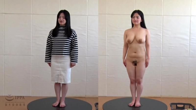 素人女性98人の全裸解体新書 2枚組8時間 2枚目