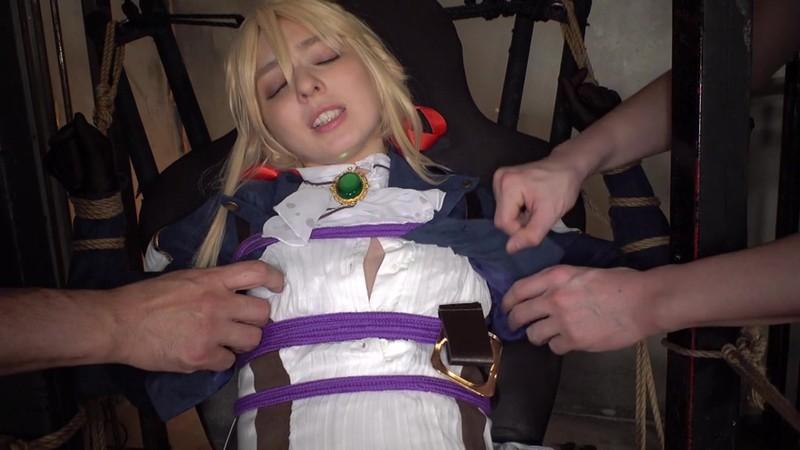自動性処理人形ヴァイオ●ット×アナル&マ●コ3穴串刺しファック×10連続大量ザーメンぶっかけ カリナ
