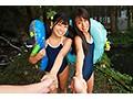 【VR】都会から自然教室に来た3年2組の女の子〜キャンプ場管...sample5