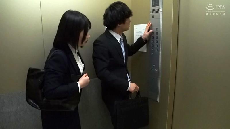 緊急停止エレベーターに 閉じ込められた二人 優梨まいな1