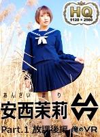 【VR】新感覚フェチグラビア 安西茉莉 Part.1 放課後編