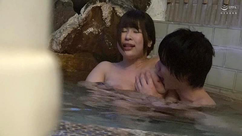 アナタごめんなさい…。わたし寝取られました…。爆乳妻 隠匿温泉旅行 【椎葉みくる】Jカップ 1枚目