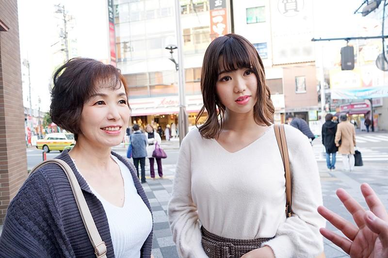 仲良し母娘のちょいレズ3P 母:美智子さん 娘:ひなさん キャプチャー画像 2枚目