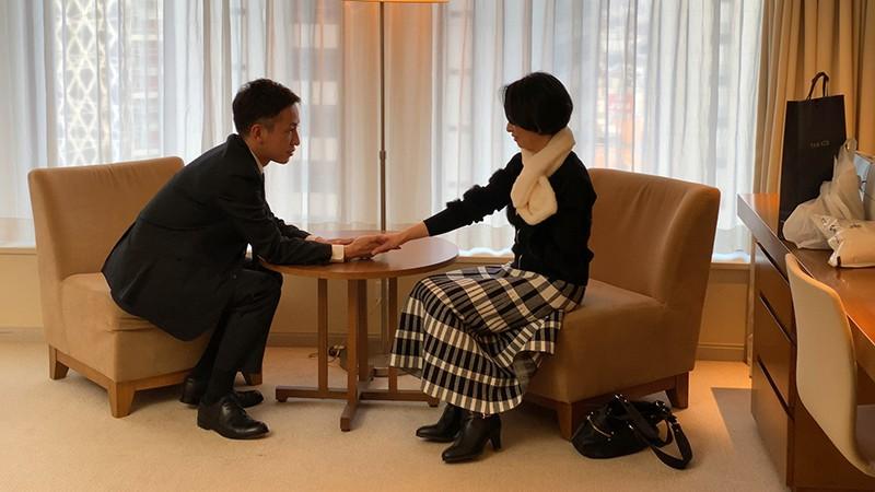 素敵な婦人 息子に会いに上京したはずなのに…イケメンナンパ師のテクにメロメロ 光代さん49歳 キャプチャー画像 2枚目