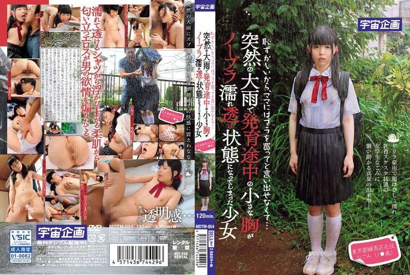 恥ずかしいから、ママにはブラを買ってと言い出せなくて…突然の大雨で発育途中の小さな胸がノーブラ濡れ透け状態になってしまった少女 東京都練馬区在住 なごみ(1●歳)