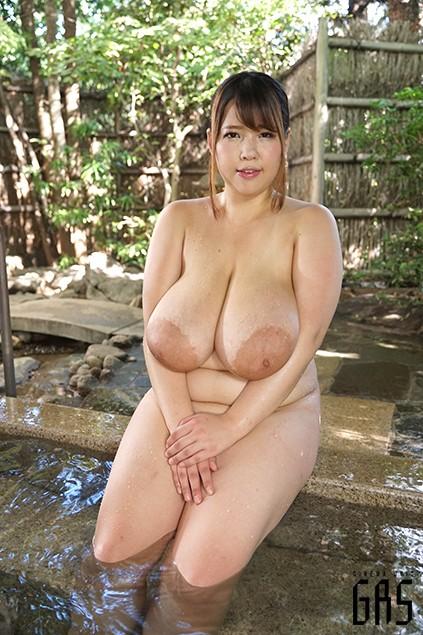 狭い混浴で超乳と遭遇! 優木いおり 20枚目