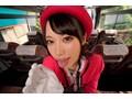 【VR】美人バスガイドと車内セックス 川菜美鈴【リアル映像】sample3
