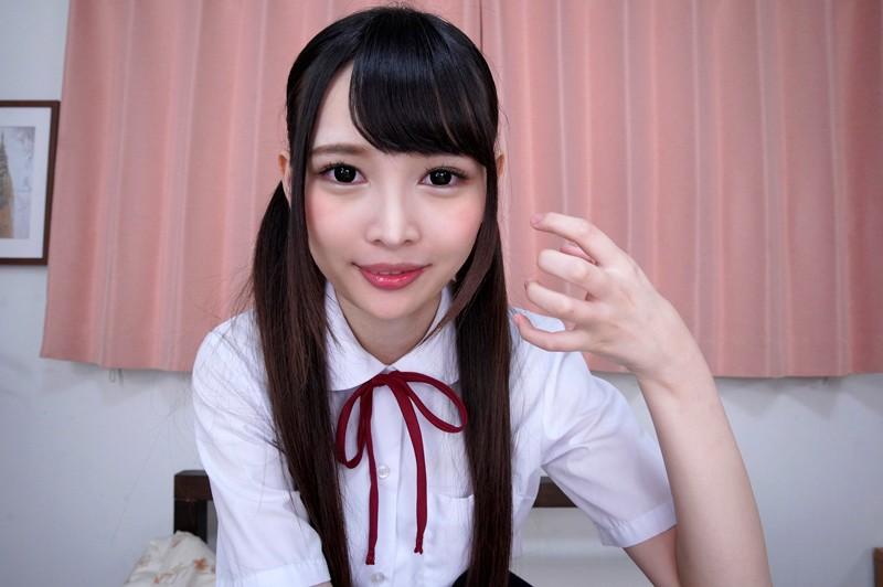 """【エロVR】小悪魔美少女""""跡美しゅり""""と濃密10連続中出しセックス"""