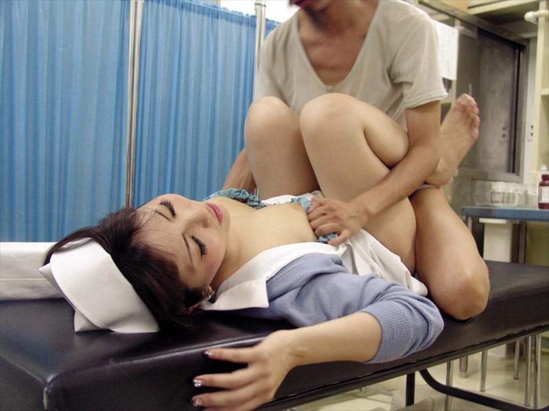 ナースを仕事中に口説いて病院の敷地内でセックスできるか?4時間 キャプチャー画像 4枚目
