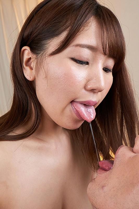 【VR】至高のオーラルセックス!唾液口移し&顔舐めVR3