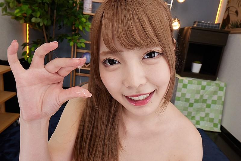【VR】女子が唾を飲ませ顔面を舐め尽くすVR2