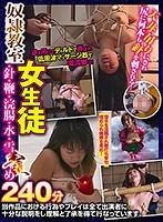 奴●教室 女生徒・針・鞭・浣腸・水・雪責め 86axdvd00295rのパッケージ画像