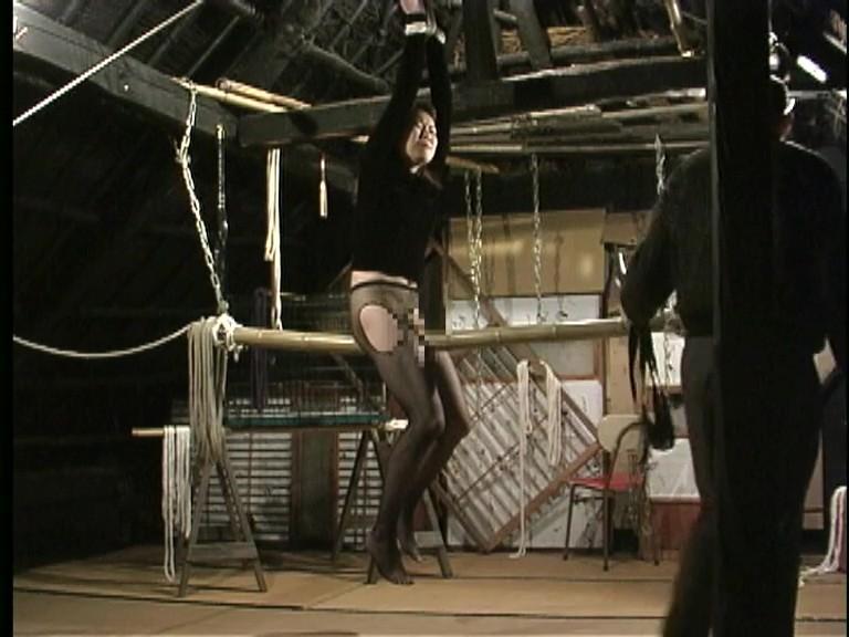 緊縛若妻 針責め逆さ吊り蜘蛛の巣拘束蝋燭嬲り