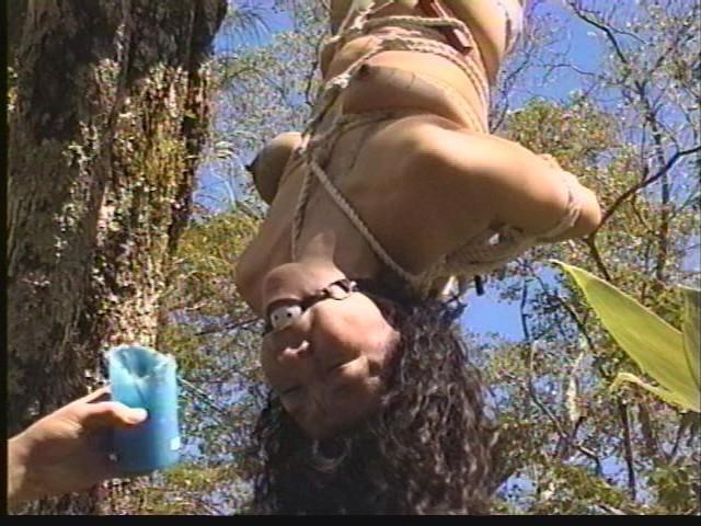 奴●志願妻 鞭打ち・逆さ吊り・吹き矢・水責め 画像12