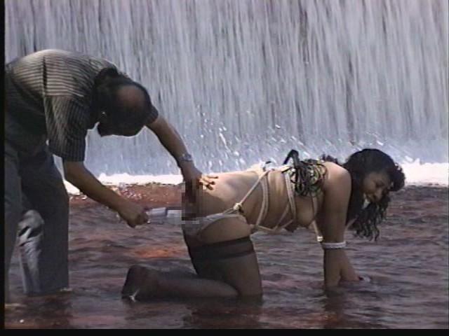 奴●志願妻 鞭打ち・逆さ吊り・吹き矢・水責め 画像13