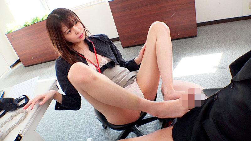 森日向子はスレンダーな美脚でハケン社員のやる気と下半身を奮い立たせる