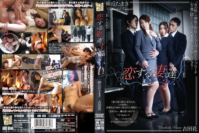 ADN-020 Wives In Love 3 Yamaki Nakaoka Hana Kishida