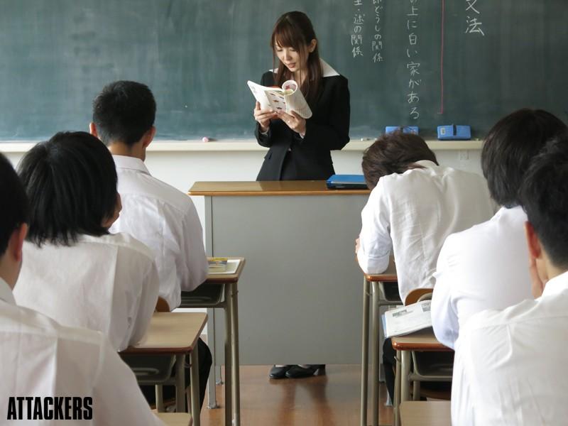 女教師 教え子との再会は不貞に濡れて…。 波多野結衣 9枚目